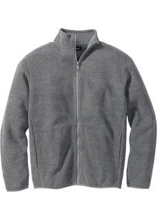 Куртка Regular Fit в рубчик (дымчато-серый) Bonprix
