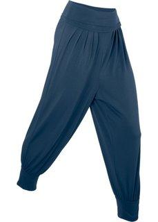 Брюки-саруэл для йоги (темно-синий) Bonprix