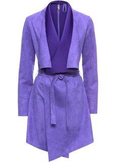Куртка из искусственной кожи (лиловый гиацинт) Bonprix