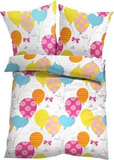 Постельное белье Воздушные шарики, линон (разные цвета) Bonprix