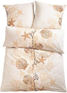 Постельное белье Морская звезда, джерси (кремовый) Bonprix