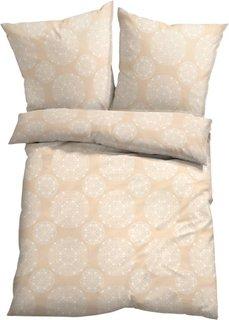 Постельное белье Энья, микроволокно (кремовый) Bonprix
