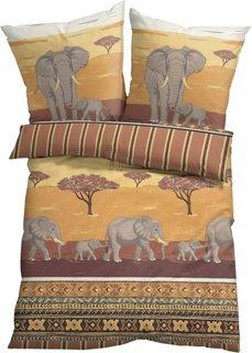Постельное белье Кения, линон (различные расцветки) Bonprix