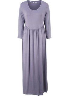 Трикотажное платье с рукавом 3/4 (дымчато-фиолетовый) Bonprix