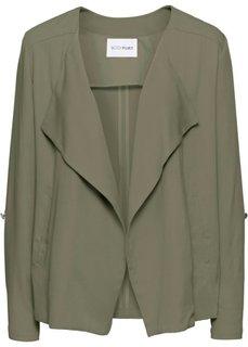 Куртка с вырезом-хомут (оливковый) Bonprix