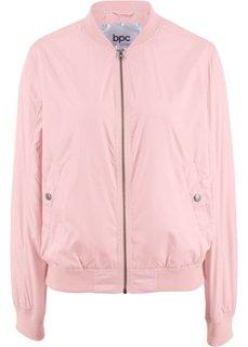 Бомбер (нежно-розовый) Bonprix