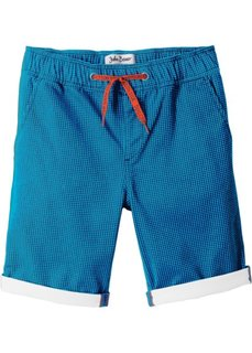 Бермуды с отворотами (темно-синий/капри-синий) Bonprix