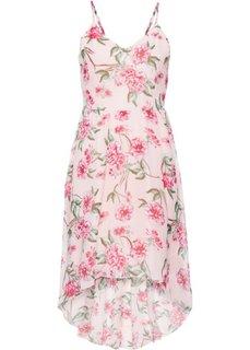 Платье с цветочным принтом (розовый в цветочек) Bonprix