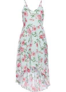Платье с цветочным принтом (синий в цветочек) Bonprix