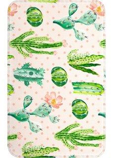 Коврик для ванной Кактус, пена-мемори (зеленый) Bonprix