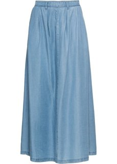 Юбка из тенселя (голубой) Bonprix