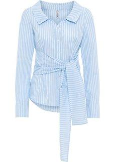 Блузка (синий/белый в полоску) Bonprix