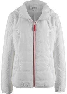 Куртка с капюшоном (кремовый) Bonprix