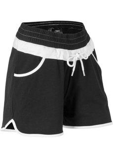 Трикотажные шорты (черный) Bonprix