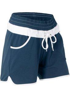 Трикотажные шорты (темно-синий) Bonprix