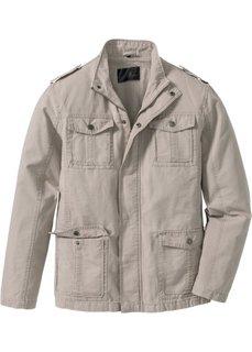Куртка Regular Fit (серо-коричневый) Bonprix