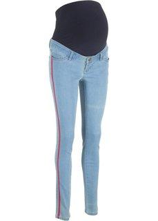 Джинсы-дудочки для беременных (нежно-голубой) Bonprix