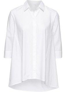 Блузка расклешенного покроя (кремовый) Bonprix