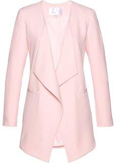 Пиджак удлиненного покроя (нежно-розовый) Bonprix