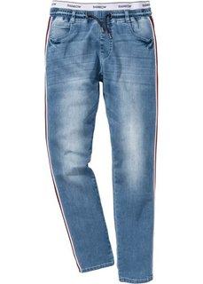 Джинсы Regular Fit Straight (голубой выбеленный) Bonprix