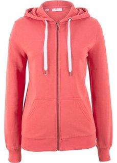 Трикотажная куртка (коралловый) Bonprix