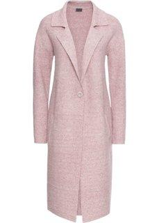 Пальто вязаное (сиреневый меланж) Bonprix