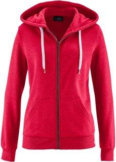 Трикотажная куртка (темно-красный) Bonprix