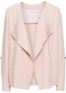 Куртка с вырезом-хомут (пепельно-розовый) Bonprix