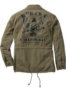 Куртка Regular Fit (оливковый) Bonprix