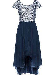 Вечернее платье (темно-синий/серебристый) Bonprix