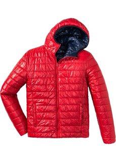 Двухсторонняя куртка Regular Fit (темно-синий/красный) Bonprix