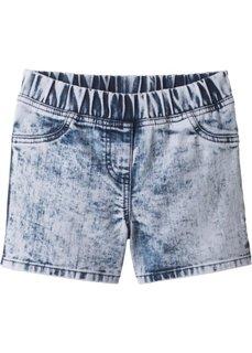 Шорты джинсовые (голубой батик) Bonprix