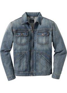 Джинсовая куртка Regular Fit (синий) Bonprix