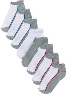 Носки для спортивной обуви (8 пар) (белый/серый/цветной) Bonprix