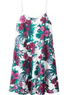 Платье летнее (белый с рисунком) Bonprix