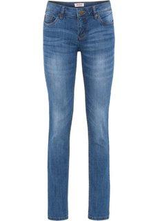 Эластичные джинсы скинни, низкий рост (K) (синий) Bonprix