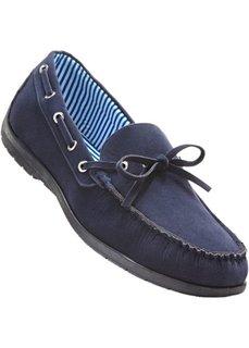 Мокасины (темно-синий) Bonprix