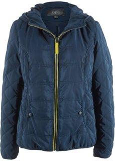 Куртка с капюшоном (темно-синий) Bonprix
