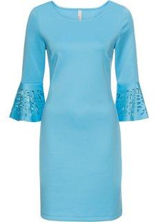 Платье с разрезами (светло-голубой) Bonprix