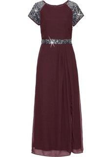 Вечернее платье (бордовый) Bonprix