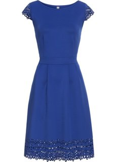 Платье с вырезами (темно-синий) Bonprix