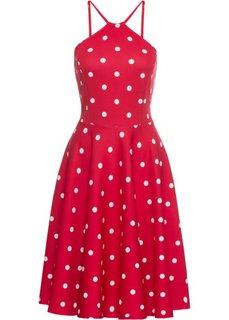 Летнее платье (красный/белый) Bonprix