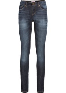 Эластичные джинсы скинни, высокий рост (L) (темно-синий) Bonprix
