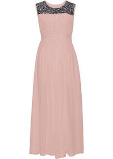 Длинное платье (винтажно-розовый) Bonprix