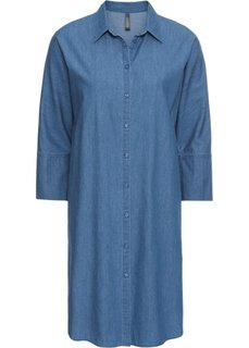 Платье (синий «потертый») Bonprix