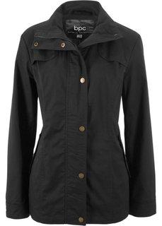 Куртка с воротником-стойкой (черный) Bonprix