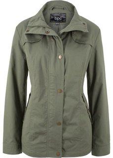 Куртка с воротником-стойкой (оливковый) Bonprix