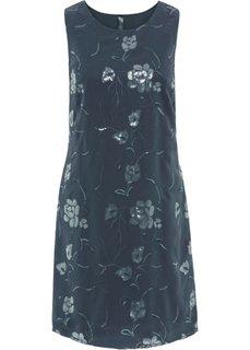 Платье с пайетками (ночная синь) Bonprix