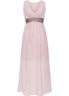 Платье с аппликацией (розовый) Bonprix