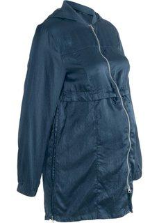 Куртка удлиненного покроя, для беременных (темно-синий) Bonprix